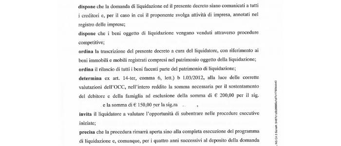procedura 2 legge 3 2012