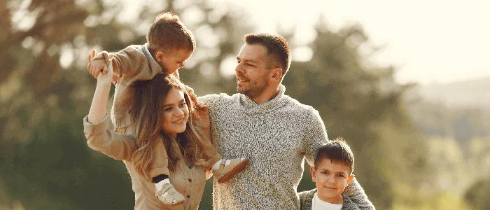 famiglia salva dai debiti